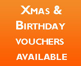XMAS & BIRTHDAY VOUCHERS AVAILABLE